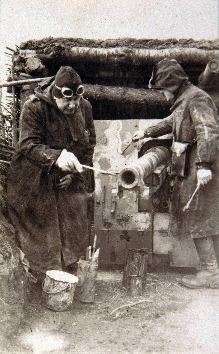 L'arme «camouflage»    La guerre de 1914-1918 ne fut pas la guerre éclair tant attendue.
