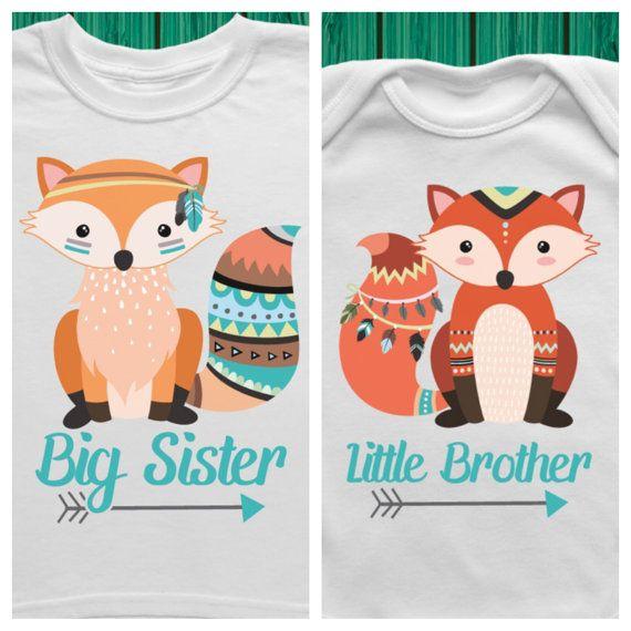 Grande soeur peu tenues frère, grande soeur annonce chemise, grande soeur cadeau, petit frère cache-couche, tenue de petit frère Coming Home