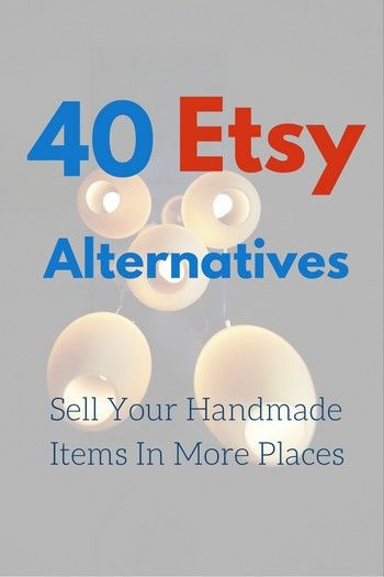 Where do you sell your handmade items?...  For most small independent…