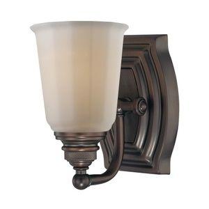 Minka Lighting M6451267 Clairemont 1 Bulb Wall Sconce - Dark Brushed Bronze