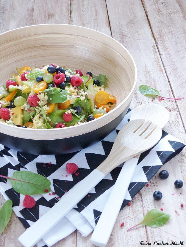 Hirse paprika salat
