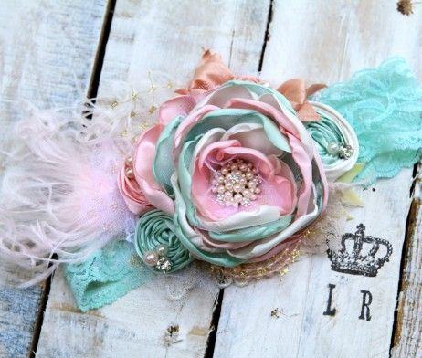 Shabby Chic Headbands by London Raquel