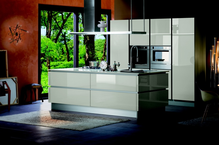 Hidden Kitchen Concept With Pivot Doors