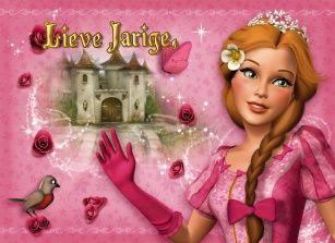 Voor een lieve prinses een fijne verjaardag gewenst. #Hallmark #HallmarkNL #happybirthday #birthday #verjaardag #jarig #verjaardagskaart #meisje