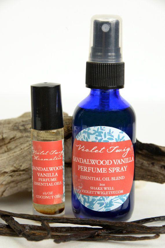 Sandalwood Perfume Natural Sandalwood by VioletTwigAromatics