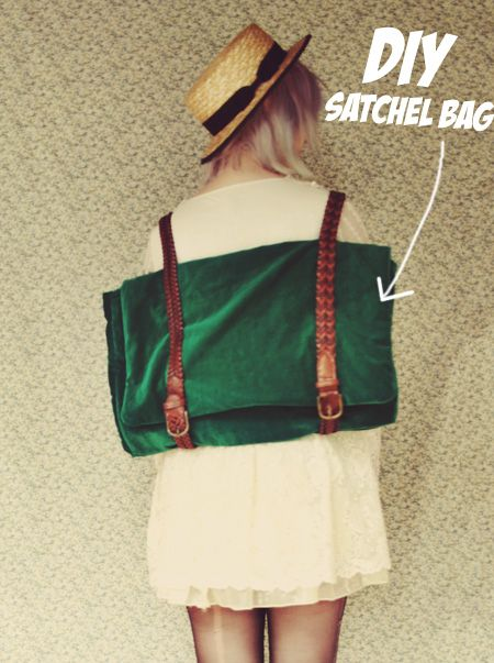The Pineneedle Collective: DIY Satchel Bag/Backpack