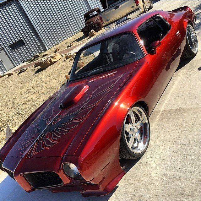 Custom '73 Pontiac Trans Am, by the Martin Brothers Customs...