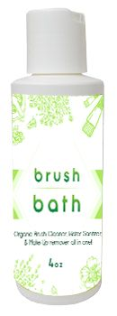 Brush Bath 4oz: Silly Farm Supplies Inc. Face Painting | Body Painting | Airbrush Supplies | Arty Brush Cakes | Rainbow Cakes | Clown Supplies
