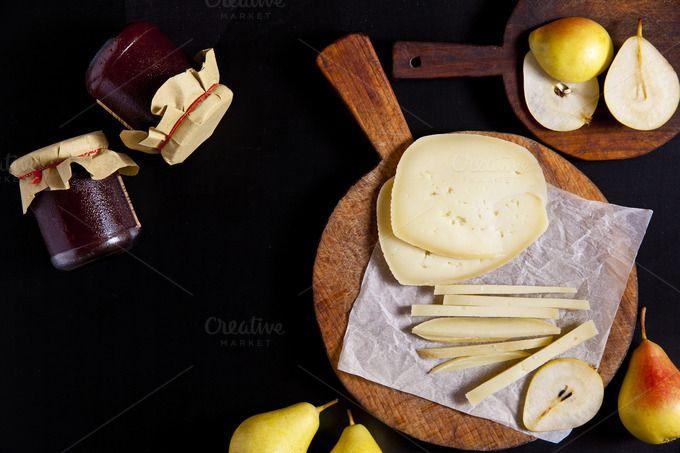 Autumn Italian appetizer. by IriGri on @creativemarket