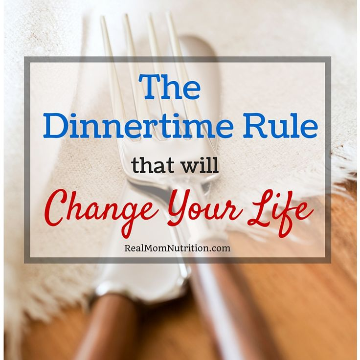This one dinnertime rule will save your sanity, free up time, and help your child become a healthy, happy eater.