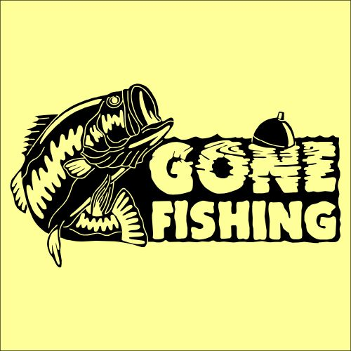 gone fish sign - Google Search