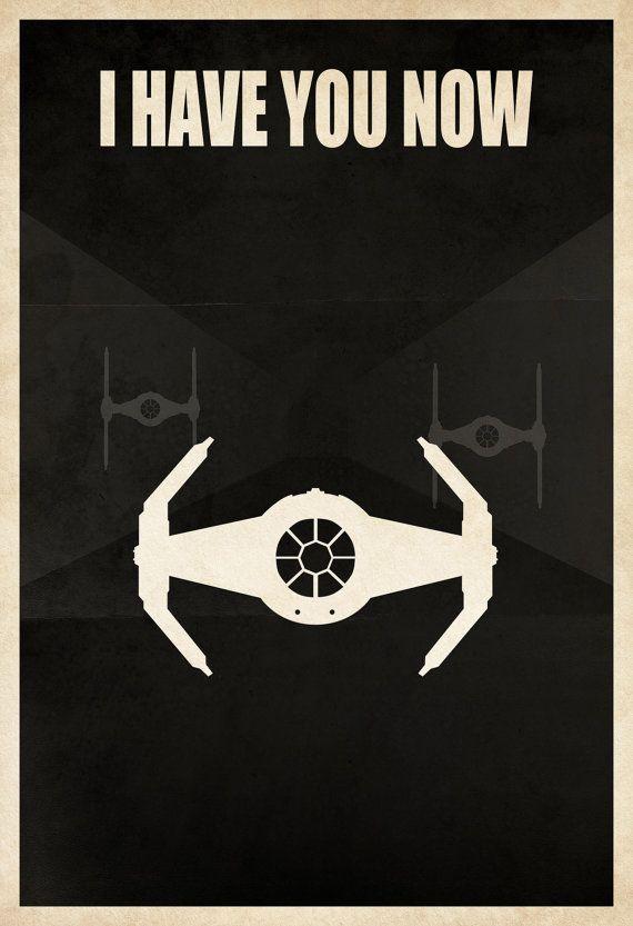 Star Wars - schwarz-Weiß-graues Minimalist-Pattern wäre cool mit Darth Vader als Silhouette im Hintergrund