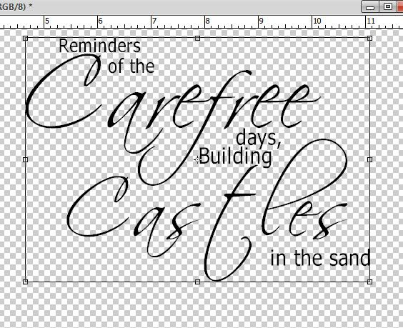 Quick and easy Word Art tutorial with Photoshop