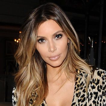 Kim Kardashian Is Caught Out With Her Blond Ombre Hair Color Again: Lipstick.com
