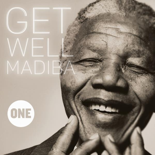 Sending Positive Energy & and peaceful thoughts to one of this world's greatest men, Nelson Mandela. May he have a  speedy recovery.