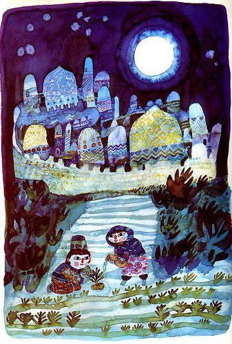 Stefan Zavrel, Night garden