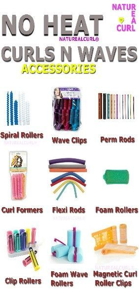 Natural hair Care #Naturealcurl Heat free curls .... Rollers .......... Waves: