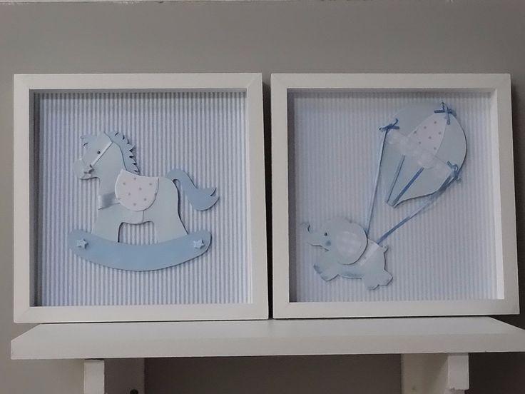 Cuadros cuadritos para bebes super delicados for Objetos decoracion habitacion bebe