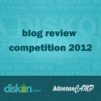 Blog Review Competition 2012 - Diskon.com