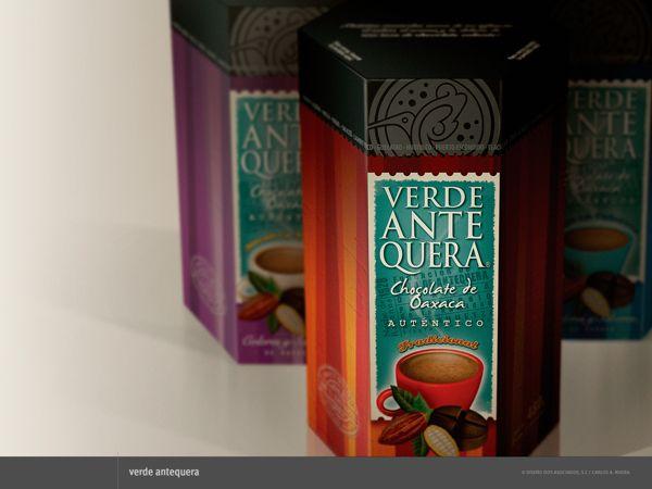 Packaging para Verde Antequera by Carlos A. Rivera, via Behance