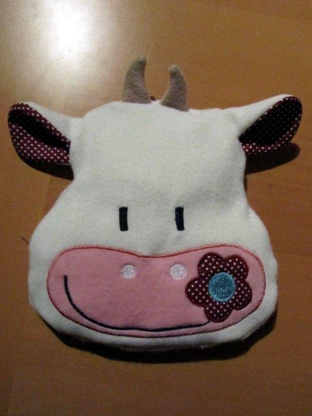 Kissen - Wärmekissen Kuh Roggenkissen Dinkelkissen - ein Designerstück von driemes bei DaWanda