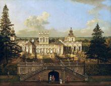 Pałac w Wilanowie widok z 1770