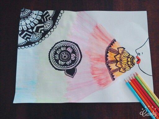 Draw is my life\ zentangle art!!!