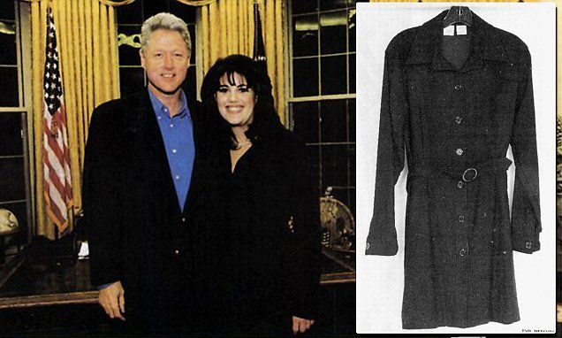 Monica Lewinsky 'offered $1MILLION by museum for stained ...