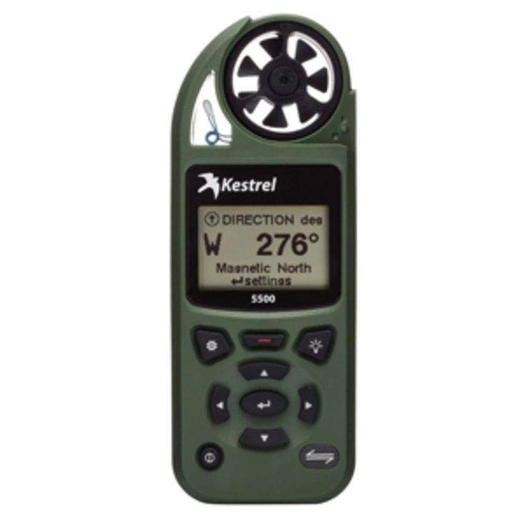 Kestrel 5500 Pocket Weather Meter - Olive