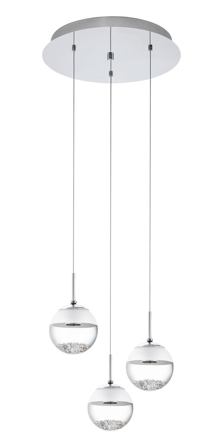 Buy Eglo Lighting's Montefio 3 Light Circle LED Pendant - 93709 at OnlineLighting.com.au. Visit our online store today or call us at 1300 791 345!