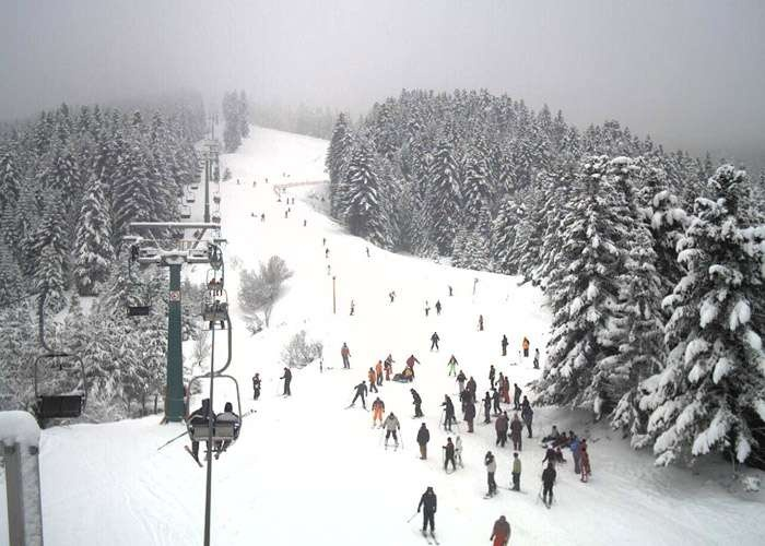 Agriolefkes ski centre, Hania, Pelion