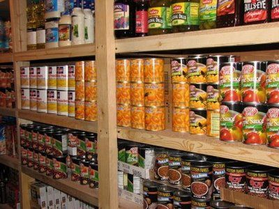 While most people dream of boats and cars and stuff, my husband and I dream of a KILLER food storage!  One-year supply, baby!