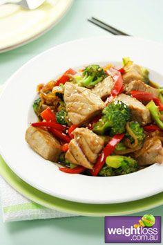 Atkins Diet Recipes: Tuna and Broccoli Stir Fry Recipe. #HealthyRecipes #DietRecipes #WeightLoss #WeightlossRecipes weightloss.com.au