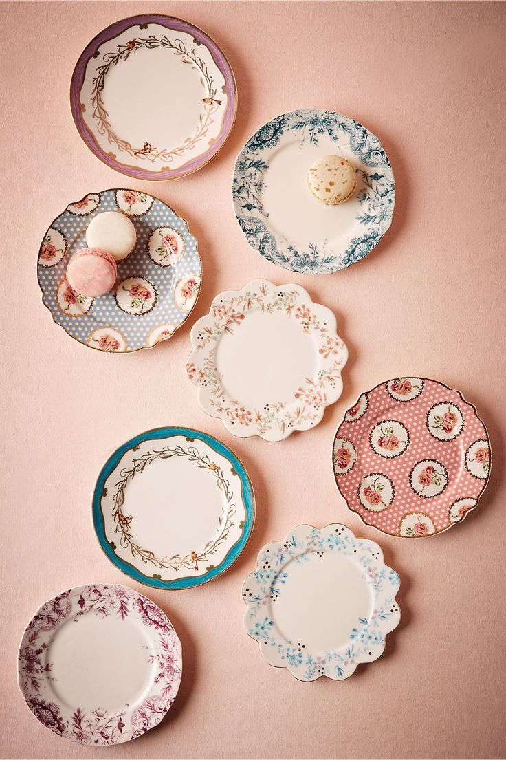 images about wedding pretties bridal bhldn english tea plates 8 in deacutecor view all deacutecor at bhldn