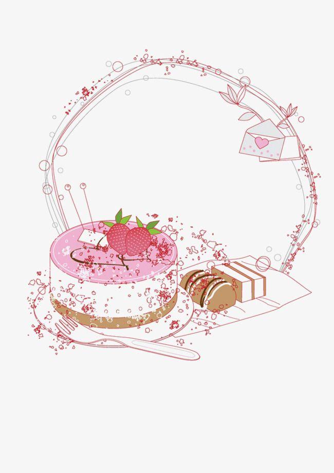 free vector cake logo design Vector Cake Border, Fashion, Line, Cake PNG Transparent Clipart