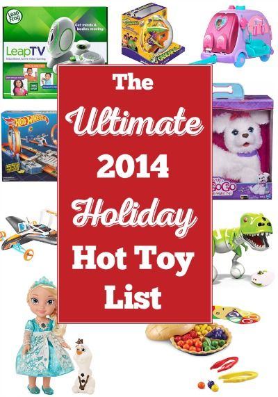 The Ultimate 2014 Holiday Hot Toys List - Here are the hottest toys of 2014 (in other words what the kids REALLY want) at the best prices around. Happy shopping and saving!