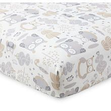Levtex Baby Night Owl Fitted Sheet