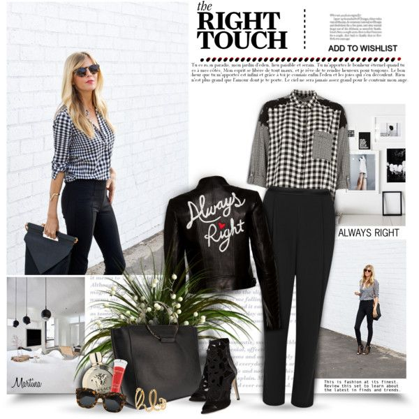 A fashion look from March 2017 by thewondersoffashion featuring River Island, Alice + Olivia, Rebecca Minkoff, Little Liffner, Chloé, Illesteva, Lancôme, Vers...