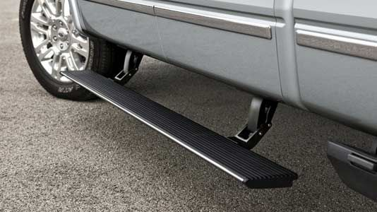 Power-deployable running boards 2013 F-150 Limited
