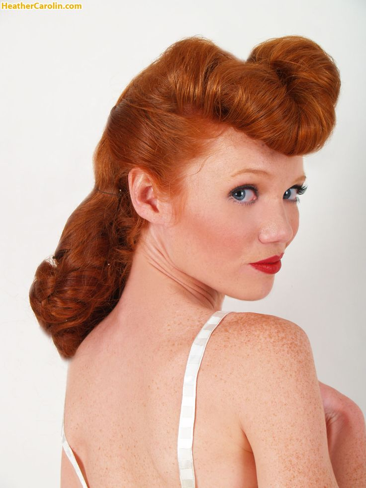Heather Carolin Hair Beauty Natural Redhead Girls With