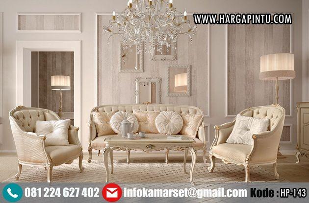 ModelKursi Tamu Klasik Elegan HP-143 Desain Terbaru Furniture Jepara Kursi…