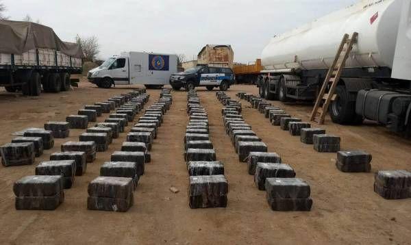 """Operación """"Gnomo"""": se incautaron 3088 kilos de marihuana"""