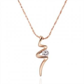 Bolt 18 Karat Gold Plated Necklace