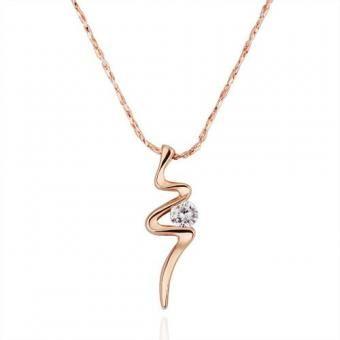 Bolt 18 Karat Gold Plated Necklace