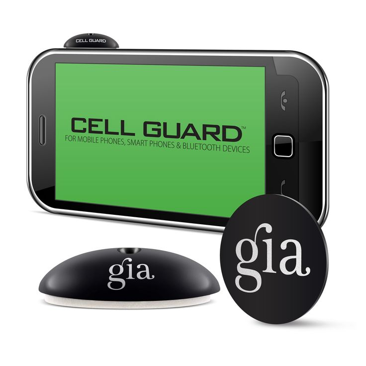 The GIA Cell Guard has been designed to neutralize the effects of your exposure to electromagnetic radiation (EMR), as well as to strengthen the resilience of your body's biofield to stress, at the same time.  Cell Phone disclaimers state NOT to hold the phone directly to your head...... Protect yourself....