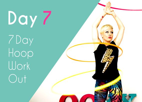 Day 7 – Birthday Hoop Jam Workout – 7 Day Hoop Challenge | Fun Hula Hoop Fitness