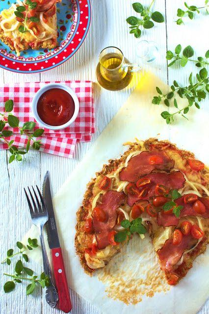 Just My Delicious: Pizza na Spodzie z Kalafiora