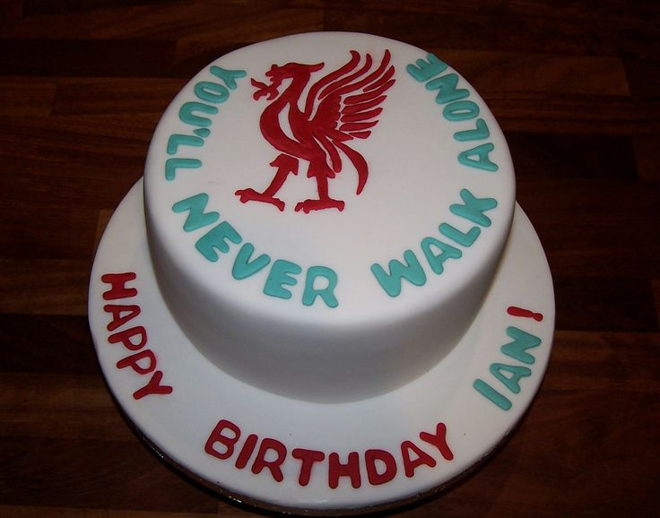 Smart Liverpool Fc Birthday Cake For The Kitchen In 2019