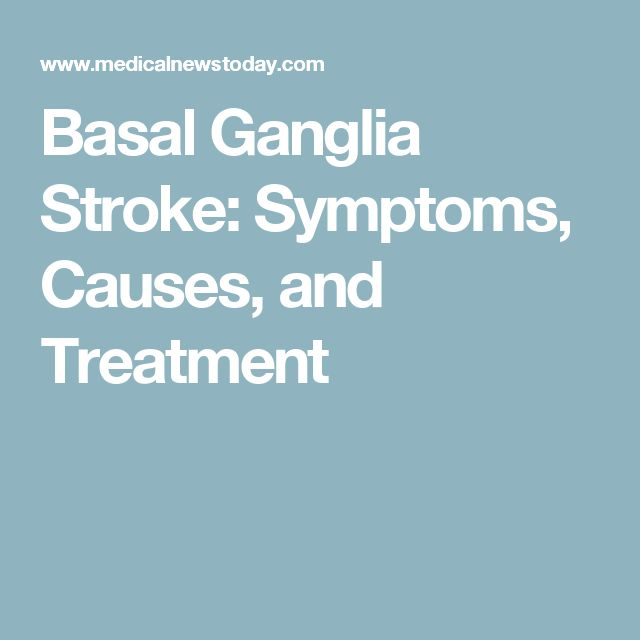 Basal Ganglia Stroke: Symptoms, Causes, and Treatment