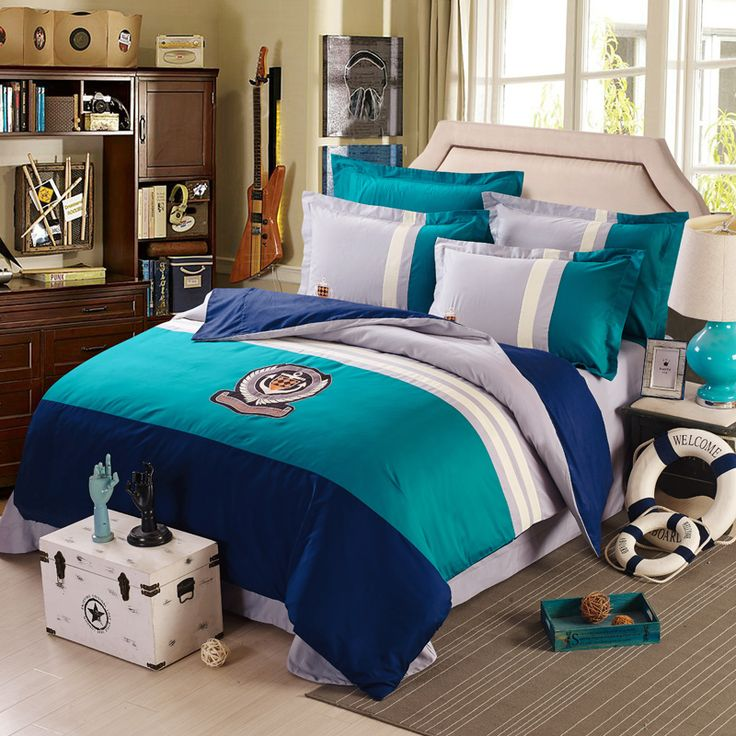 cotton champion boys girls bedding set bed linen with duvet cover bed sheet pillow cases king queen size